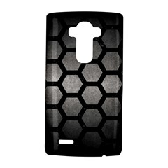 Hexagon2 Black Marble & Gray Metal 1 (r) Lg G4 Hardshell Case by trendistuff