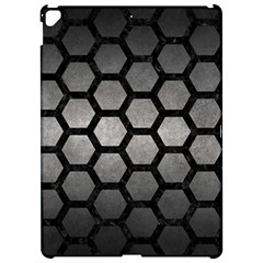 Hexagon2 Black Marble & Gray Metal 1 (r) Apple Ipad Pro 12 9   Hardshell Case by trendistuff