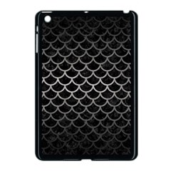 Scales1 Black Marble & Gray Metal 1 Apple Ipad Mini Case (black) by trendistuff