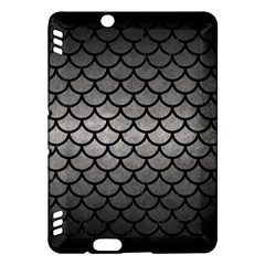 Scales1 Black Marble & Gray Metal 1 (r) Kindle Fire Hdx Hardshell Case by trendistuff