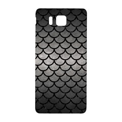 Scales1 Black Marble & Gray Metal 1 (r) Samsung Galaxy Alpha Hardshell Back Case by trendistuff