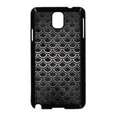 Scales2 Black Marble & Gray Metal 1 Samsung Galaxy Note 3 Neo Hardshell Case (black) by trendistuff