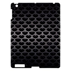 Scales3 Black Marble & Gray Metal 1 Apple Ipad 3/4 Hardshell Case by trendistuff
