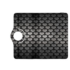 Scales3 Black Marble & Gray Metal 1 (r) Kindle Fire Hdx 8 9  Flip 360 Case by trendistuff