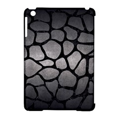 Skin1 Black Marble & Gray Metal 1 Apple Ipad Mini Hardshell Case (compatible With Smart Cover) by trendistuff