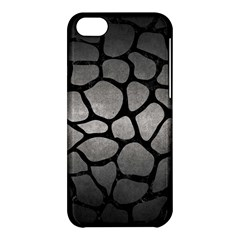 Skin1 Black Marble & Gray Metal 1 Apple Iphone 5c Hardshell Case by trendistuff