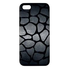 Skin1 Black Marble & Gray Metal 1 Iphone 5s/ Se Premium Hardshell Case by trendistuff