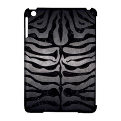 Skin2 Black Marble & Gray Metal 1 (r) Apple Ipad Mini Hardshell Case (compatible With Smart Cover) by trendistuff