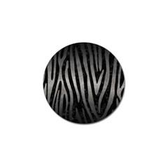 Skin4 Black Marble & Gray Metal 1 (r) Golf Ball Marker (10 Pack) by trendistuff