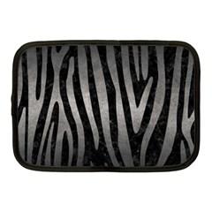 Skin4 Black Marble & Gray Metal 1 (r) Netbook Case (medium)  by trendistuff