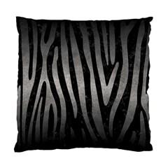 Skin4 Black Marble & Gray Metal 1 (r) Standard Cushion Case (two Sides) by trendistuff