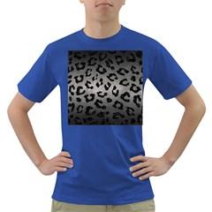 Skin5 Black Marble & Gray Metal 1 Dark T Shirt