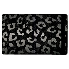 Skin5 Black Marble & Gray Metal 1 (r) Apple Ipad 2 Flip Case by trendistuff