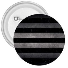 Stripes2 Black Marble & Gray Metal 1 3  Buttons by trendistuff