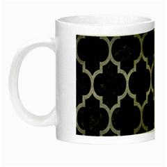 Tile1 Black Marble & Gray Metal 1 Night Luminous Mugs by trendistuff