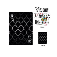 Tile1 Black Marble & Gray Metal 1 Playing Cards 54 (mini)  by trendistuff