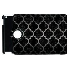 Tile1 Black Marble & Gray Metal 1 Apple Ipad 2 Flip 360 Case by trendistuff