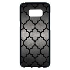Tile1 Black Marble & Gray Metal 1 (r) Samsung Galaxy S8 Plus Black Seamless Case by trendistuff