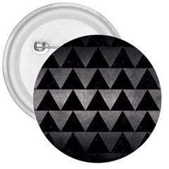 Triangle2 Black Marble & Gray Metal 1 3  Buttons by trendistuff