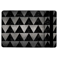 Triangle2 Black Marble & Gray Metal 1 Ipad Air 2 Flip by trendistuff