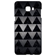 Triangle2 Black Marble & Gray Metal 1 Samsung C9 Pro Hardshell Case  by trendistuff