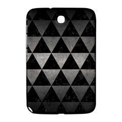 Triangle3 Black Marble & Gray Metal 1 Samsung Galaxy Note 8 0 N5100 Hardshell Case  by trendistuff