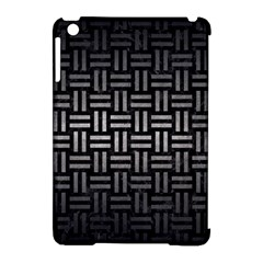 Woven1 Black Marble & Gray Metal 1 Apple Ipad Mini Hardshell Case (compatible With Smart Cover) by trendistuff