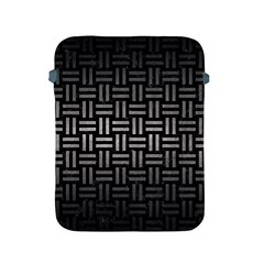 Woven1 Black Marble & Gray Metal 1 Apple Ipad 2/3/4 Protective Soft Cases by trendistuff