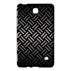 Woven2 Black Marble & Gray Metal 1 Samsung Galaxy Tab 4 (7 ) Hardshell Case  by trendistuff