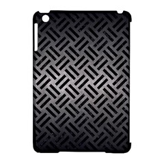 Woven2 Black Marble & Gray Metal 1 (r) Apple Ipad Mini Hardshell Case (compatible With Smart Cover) by trendistuff