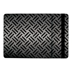Woven2 Black Marble & Gray Metal 1 (r) Samsung Galaxy Tab Pro 10 1  Flip Case by trendistuff