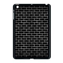 Brick1 Black Marble & Gray Metal 2 Apple Ipad Mini Case (black) by trendistuff