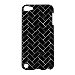 Brick2 Black Marble & Gray Metal 2 Apple Ipod Touch 5 Hardshell Case by trendistuff