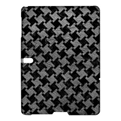 Houndstooth2 Black Marble & Gray Leather Samsung Galaxy Tab S (10 5 ) Hardshell Case  by trendistuff