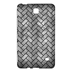 Brick2 Black Marble & Gray Metal 2 (r) Samsung Galaxy Tab 4 (7 ) Hardshell Case  by trendistuff