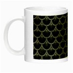 SCALES3 BLACK MARBLE & GRAY LEATHER Night Luminous Mugs Left