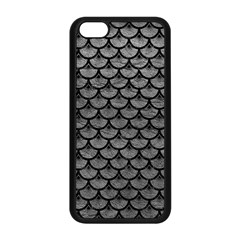 Scales3 Black Marble & Gray Leather (r) Apple Iphone 5c Seamless Case (black) by trendistuff