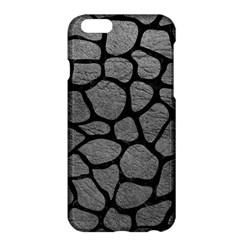 SKIN1 BLACK MARBLE & GRAY LEATHER Apple iPhone 6 Plus/6S Plus Hardshell Case