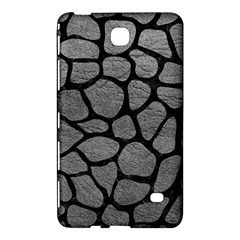 Skin1 Black Marble & Gray Leather Samsung Galaxy Tab 4 (8 ) Hardshell Case  by trendistuff