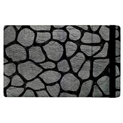 SKIN1 BLACK MARBLE & GRAY LEATHER Apple iPad Pro 9.7   Flip Case