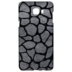 Skin1 Black Marble & Gray Leather Samsung C9 Pro Hardshell Case  by trendistuff
