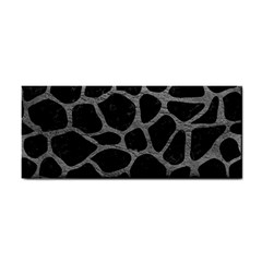 Skin1 Black Marble & Gray Leather (r) Cosmetic Storage Cases by trendistuff