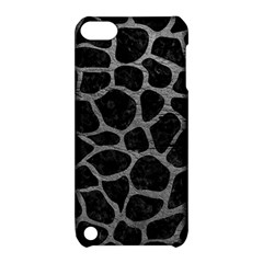 Skin1 Black Marble & Gray Leather (r) Apple Ipod Touch 5 Hardshell Case With Stand by trendistuff