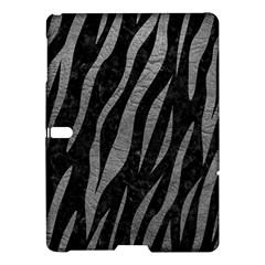 Skin3 Black Marble & Gray Leather Samsung Galaxy Tab S (10 5 ) Hardshell Case  by trendistuff