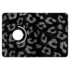 Skin5 Black Marble & Gray Leather (r) Kindle Fire Hdx Flip 360 Case by trendistuff