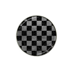 Square1 Black Marble & Gray Leather Hat Clip Ball Marker (10 Pack) by trendistuff