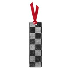 Square1 Black Marble & Gray Leather Small Book Marks by trendistuff