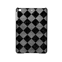Square2 Black Marble & Gray Leather Ipad Mini 2 Hardshell Cases by trendistuff