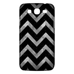 Chevron9 Black Marble & Gray Metal 2 Samsung Galaxy Mega 5 8 I9152 Hardshell Case  by trendistuff