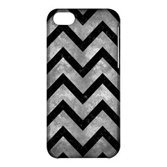 Chevron9 Black Marble & Gray Metal 2 (r) Apple Iphone 5c Hardshell Case by trendistuff